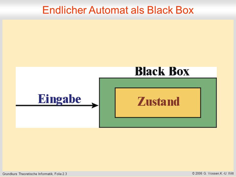 Grundkurs Theoretische Informatik, Folie 2.3 © 2006 G.