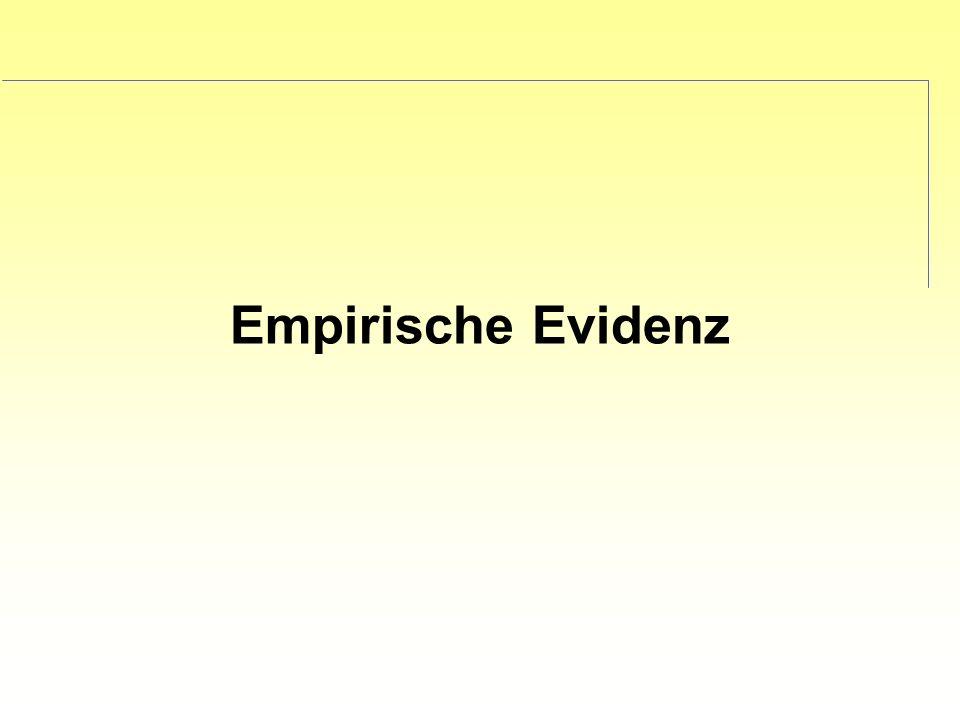 Empirische Evidenz