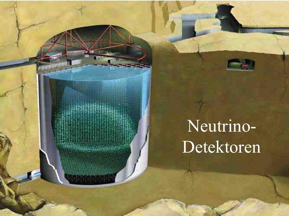 Neutrino- Detektoren