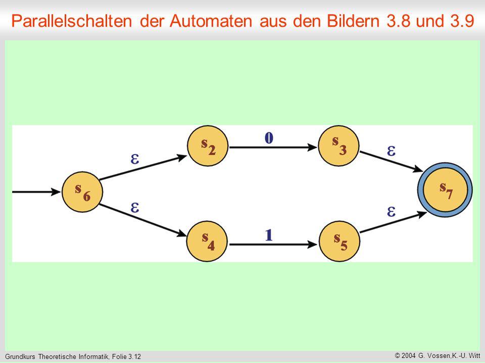 Grundkurs Theoretische Informatik, Folie 3.12 © 2004 G.