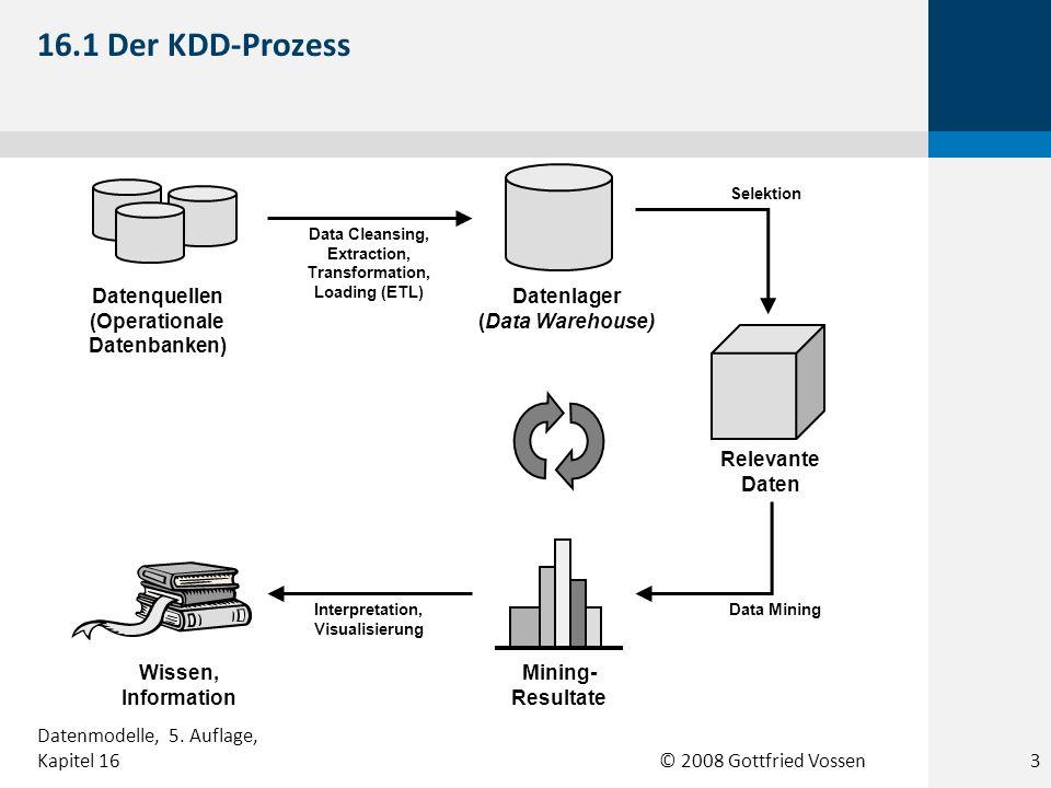 © 2008 Gottfried Vossen 16.22 Ausschnitt aus dem Log eines Web-Servers 24 Datenmodelle, 5.