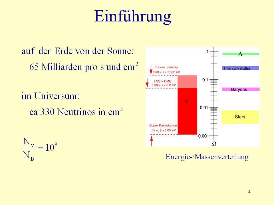 4 Energie-/Massenverteilung
