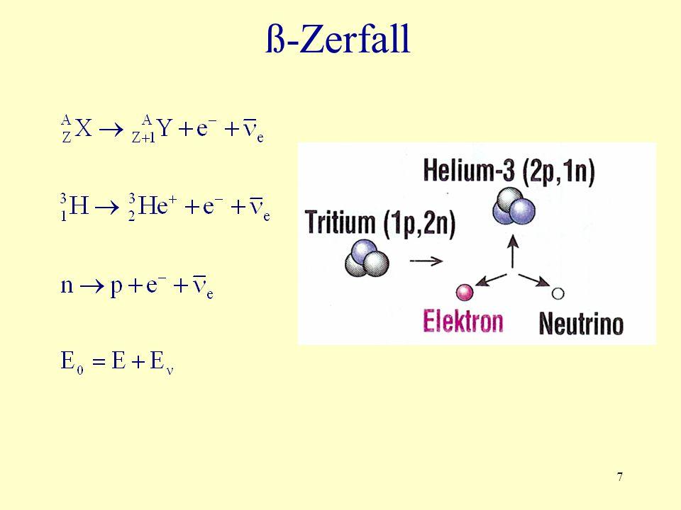 7 ß-Zerfall