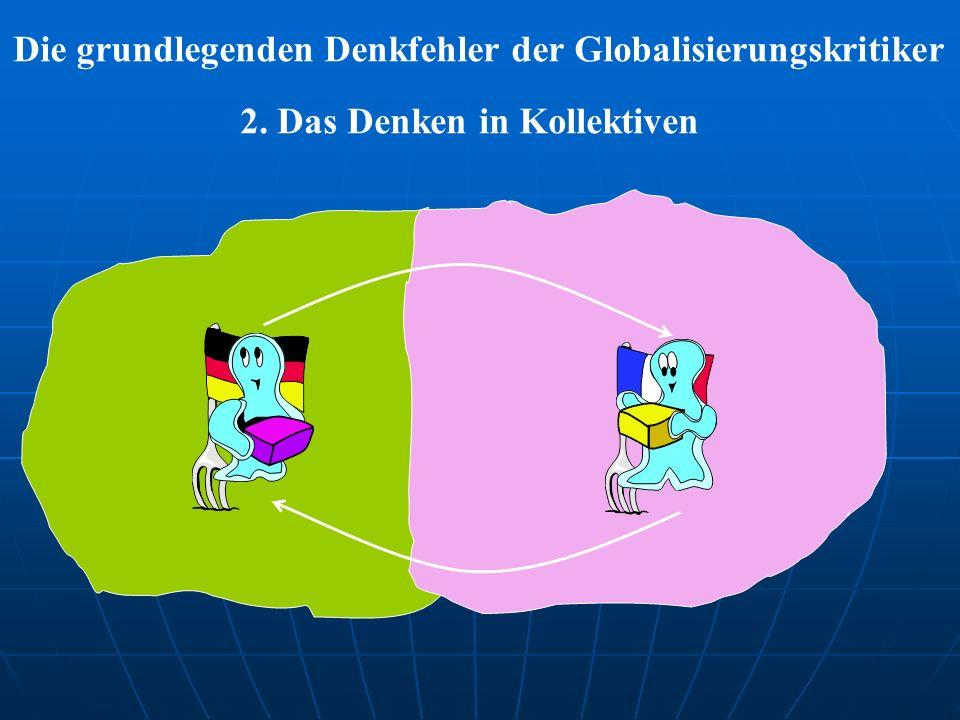 Die grundlegenden Denkfehler der Globalisierungskritiker 2. Das Denken in Kollektiven