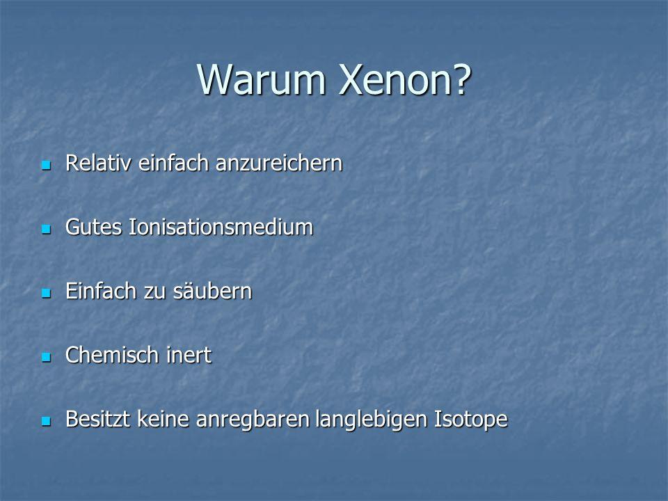 Warum Xenon.