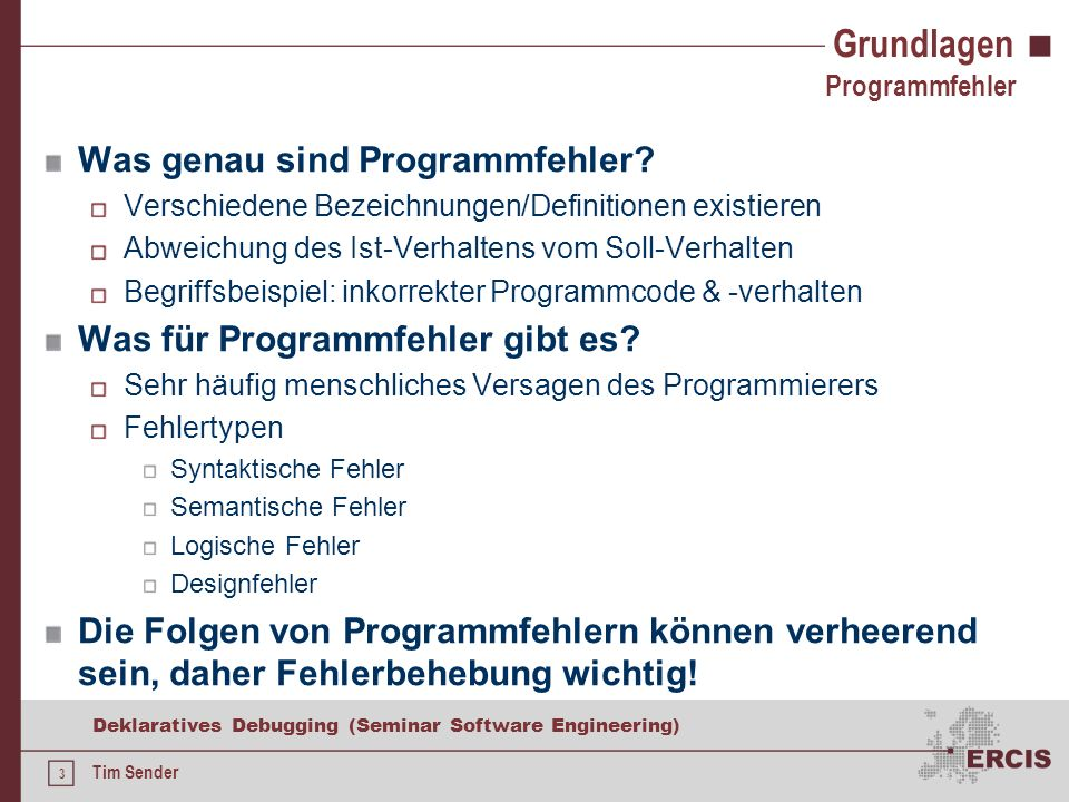 23 Deklaratives Debugging (Seminar Software Engineering) Tim Sender Anwendbarkeit Fehlerhafter Heapsort für {2,4,1,3} Imperative Programmierparadigmen Heap