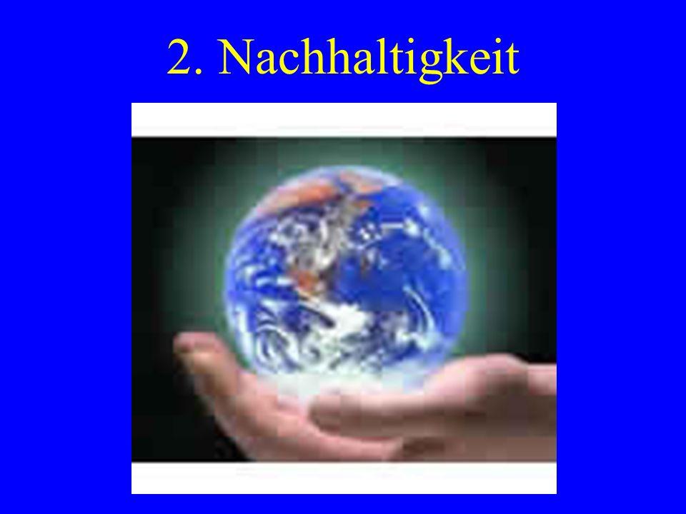 2. Nachhaltigkeit