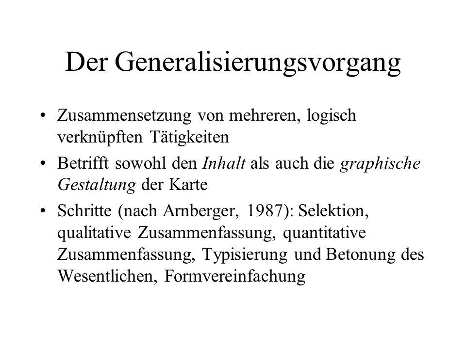 3 Komponenten WARUM generalisieren WANN generalisieren WIE generalisieren