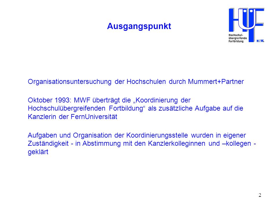 3 Organisation