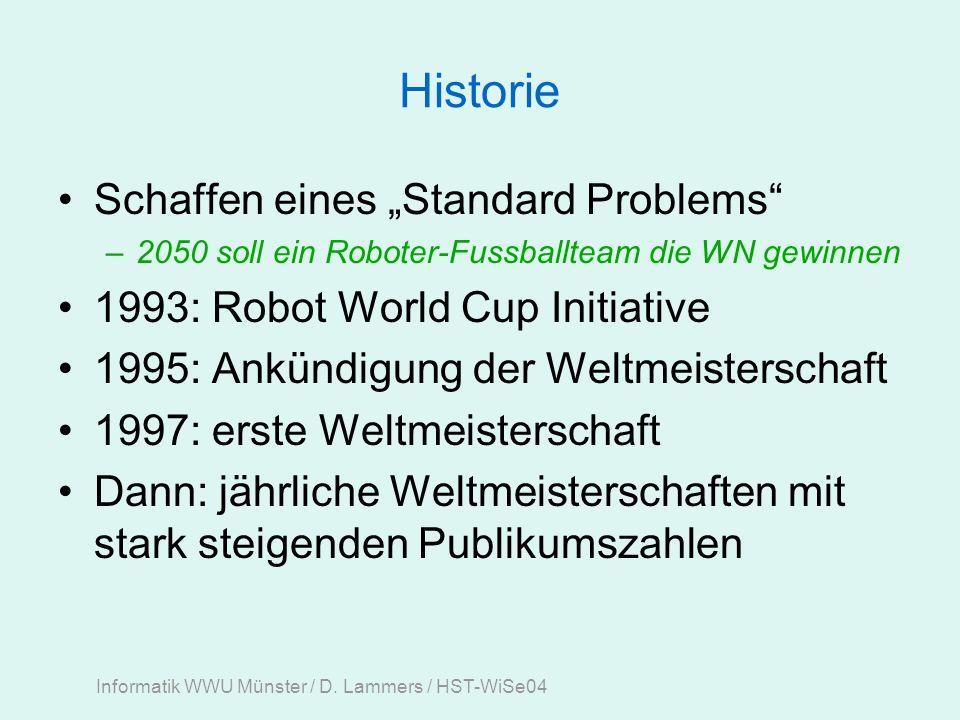Informatik WWU Münster / D.Lammers / HST-WiSe04 Danke für zuhören, und – cu.