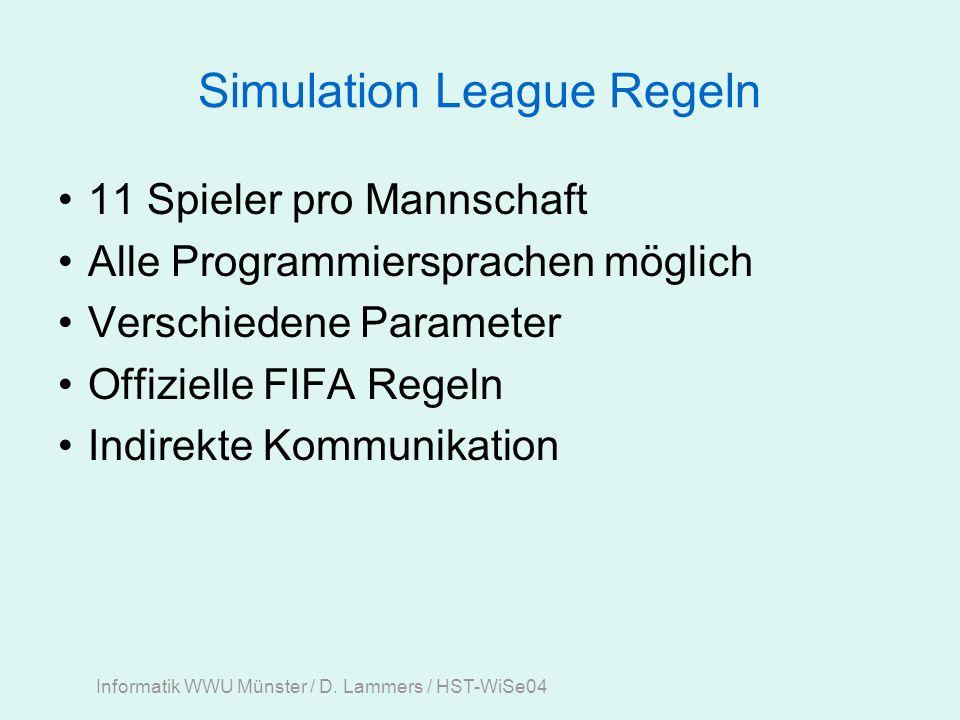 Informatik WWU Münster / D. Lammers / HST-WiSe04