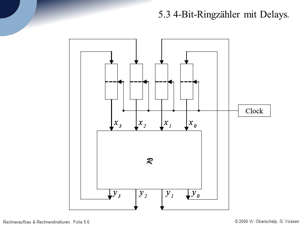 Rechneraufbau & Rechnerstrukturen, Folie 5.6 © 2006 W.