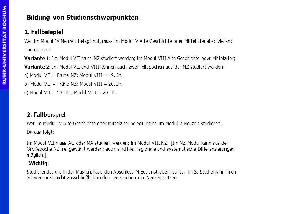 Modul VI Das Modul VI muss im 2.Studienjahr abgeschlossen werden.