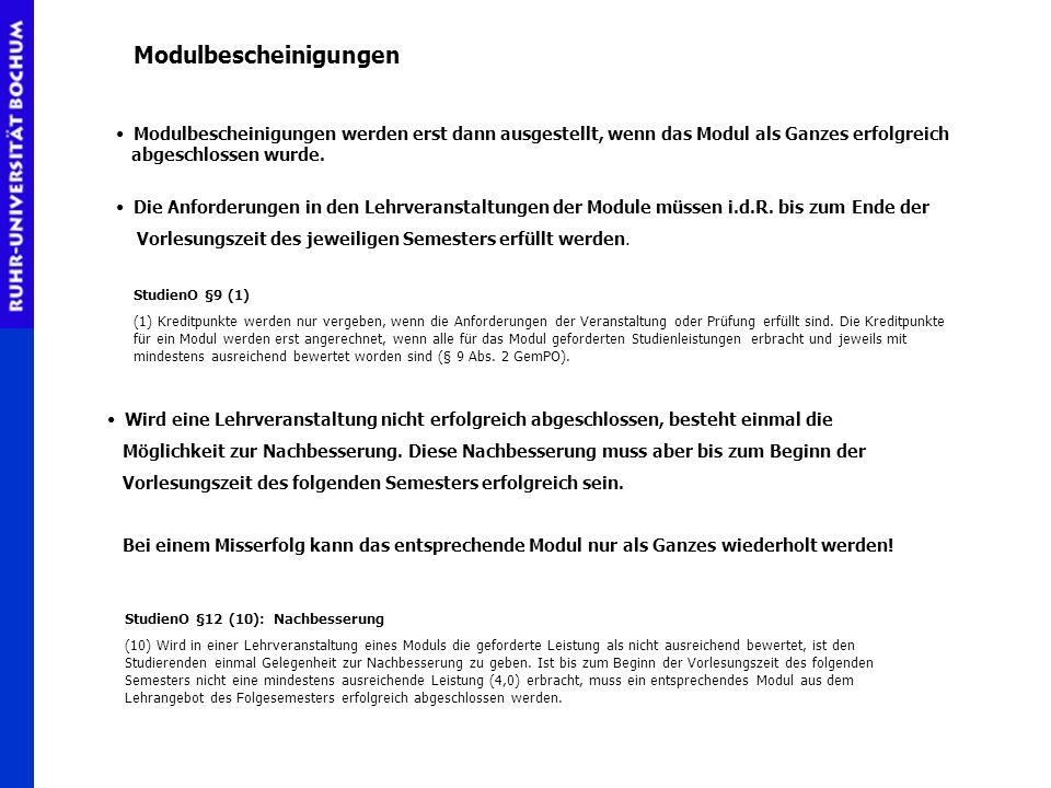 Die Bachelor-Prüfung B.A.-Prüfung Fachprüfung 2 Zweites Fach mündliche Prüfung, 30 Min.