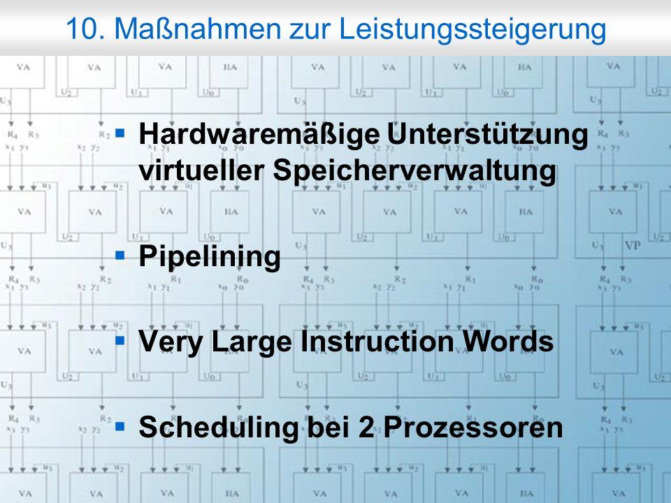 Rechneraufbau & Rechnerstrukturen, Folie 10.13 © W.
