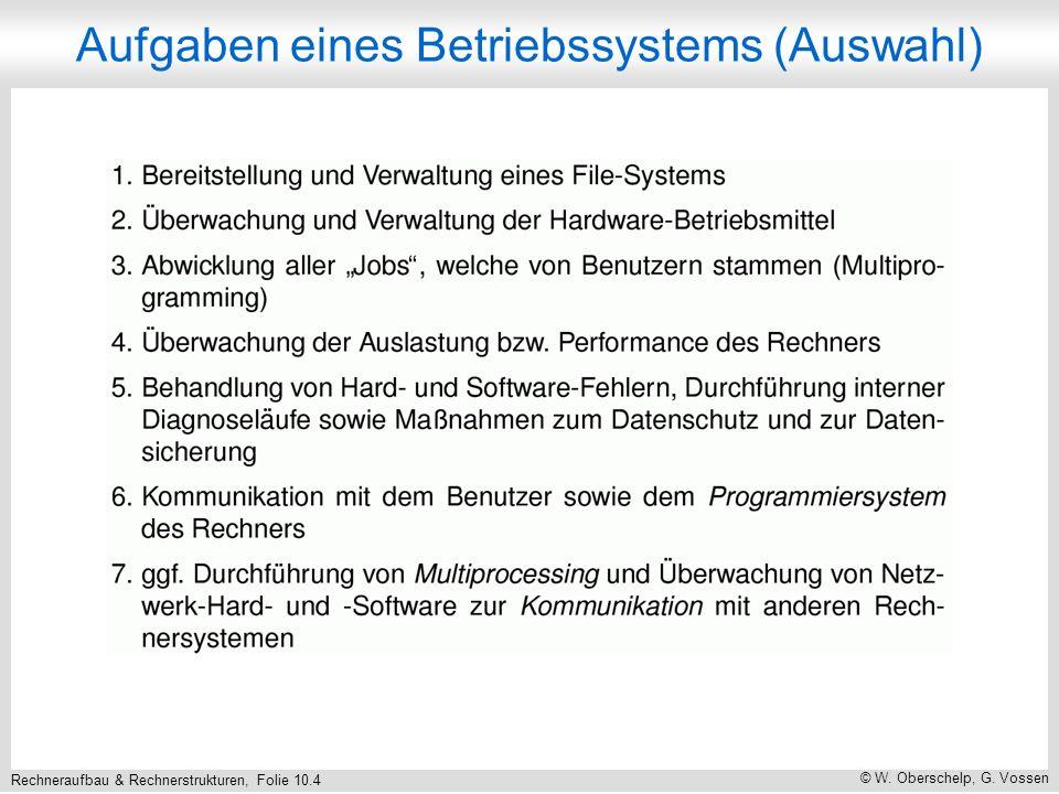 Rechneraufbau & Rechnerstrukturen, Folie 10.25 © W. Oberschelp, G. Vossen Bewertung von LPT