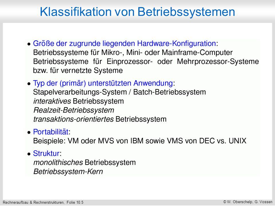Rechneraufbau & Rechnerstrukturen, Folie 10.6 © W.