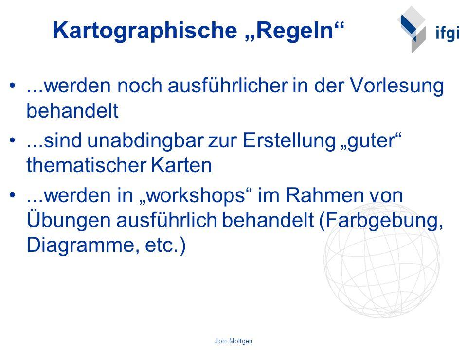 Jörn Möltgen Thematische Kartographie: –Slocum, T.