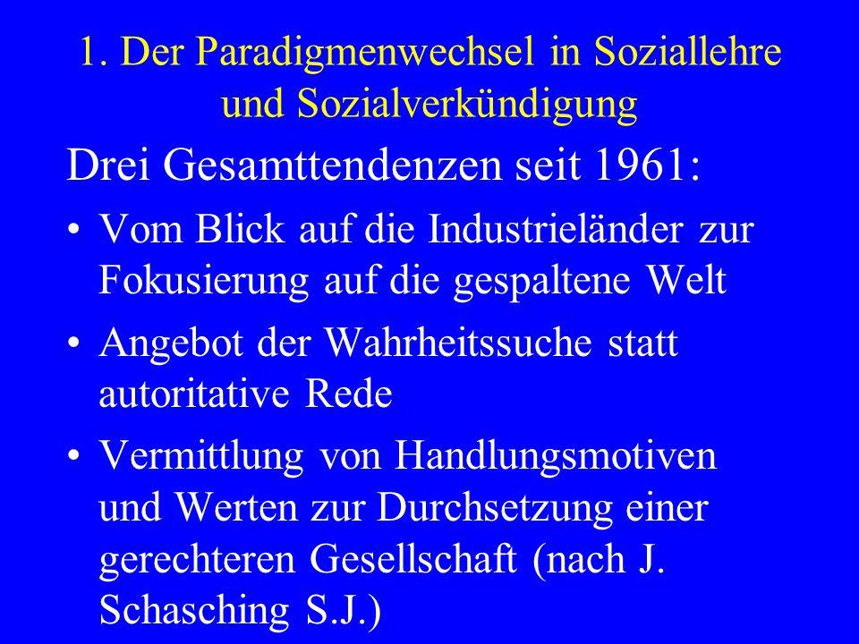 3.3 Neuorientierungen in der christlichen Sozialethik.