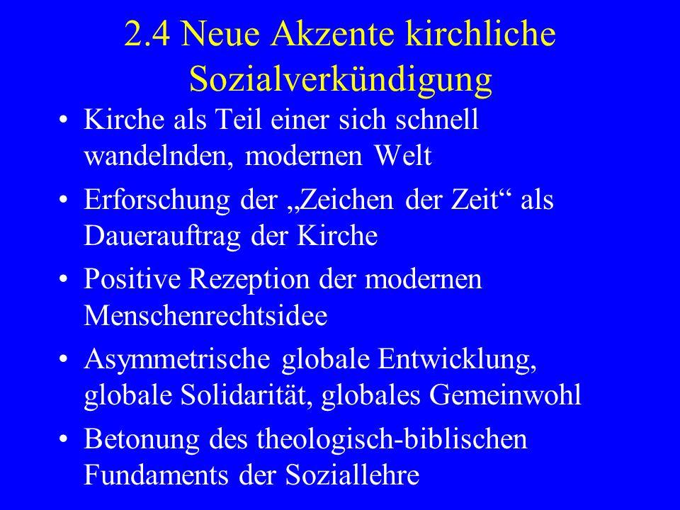 (2.) Die Evangelisierung Lateinamerikas in Gegewart und Zukunft.