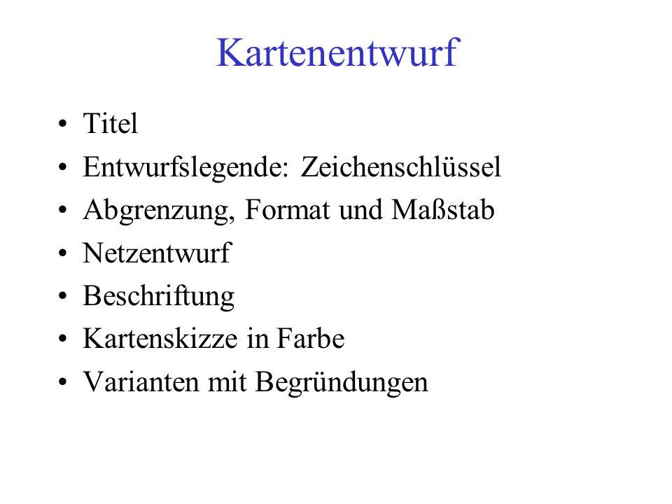 Ausgangsdaten Sachdaten –Herkunft: z.B.aus relationalen Datenbanken oder Excel –Raumbezug.