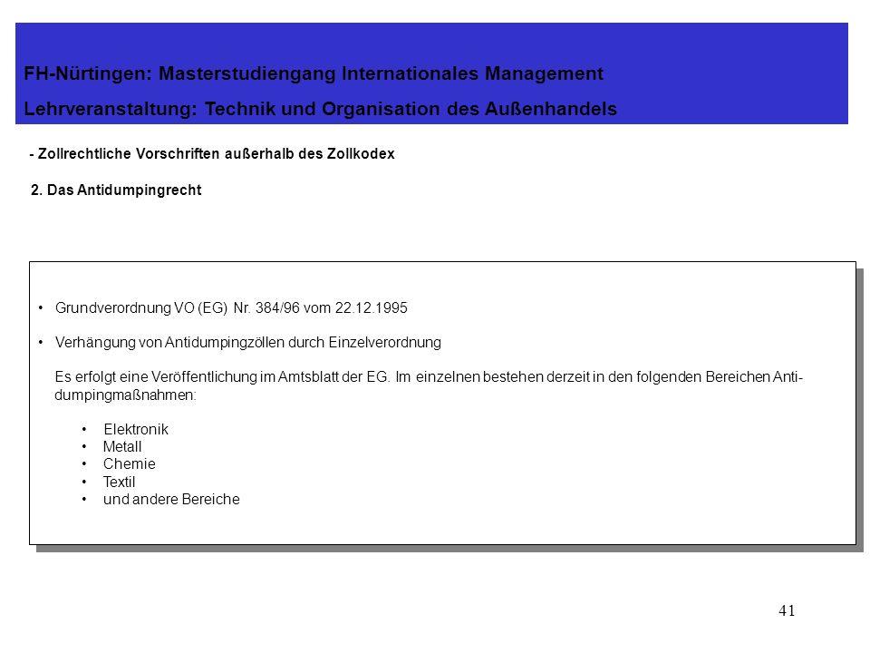 40 - Zollrechtliche Vorschriften außerhalb des Zollkodex 1. Verordnung (EWG) Nr. 918/83 vom 28.03.1983 über das gemeinschaftliche System der Zollbefre