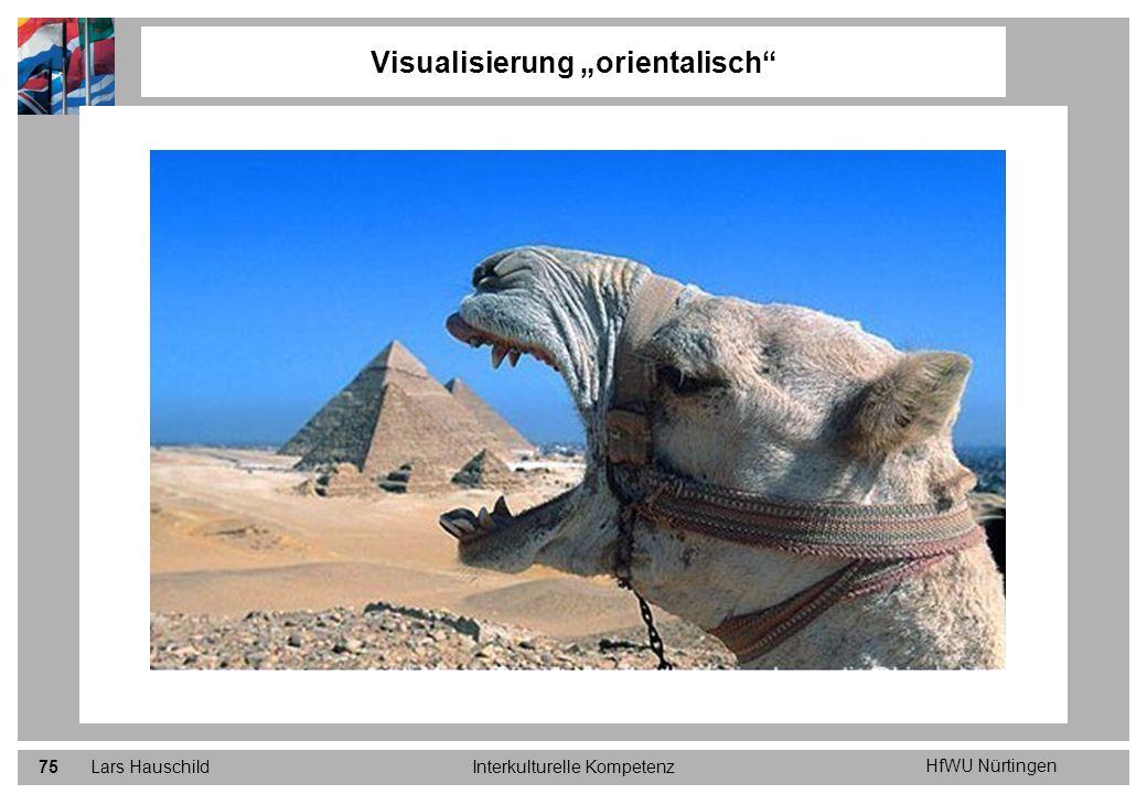 HfWU Nürtingen Lars HauschildInterkulturelle Kompetenz75 Visualisierung orientalisch