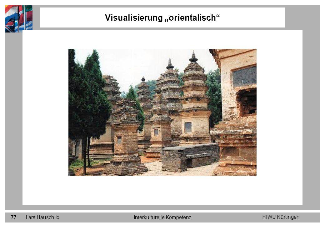 HfWU Nürtingen Lars HauschildInterkulturelle Kompetenz77 Visualisierung orientalisch