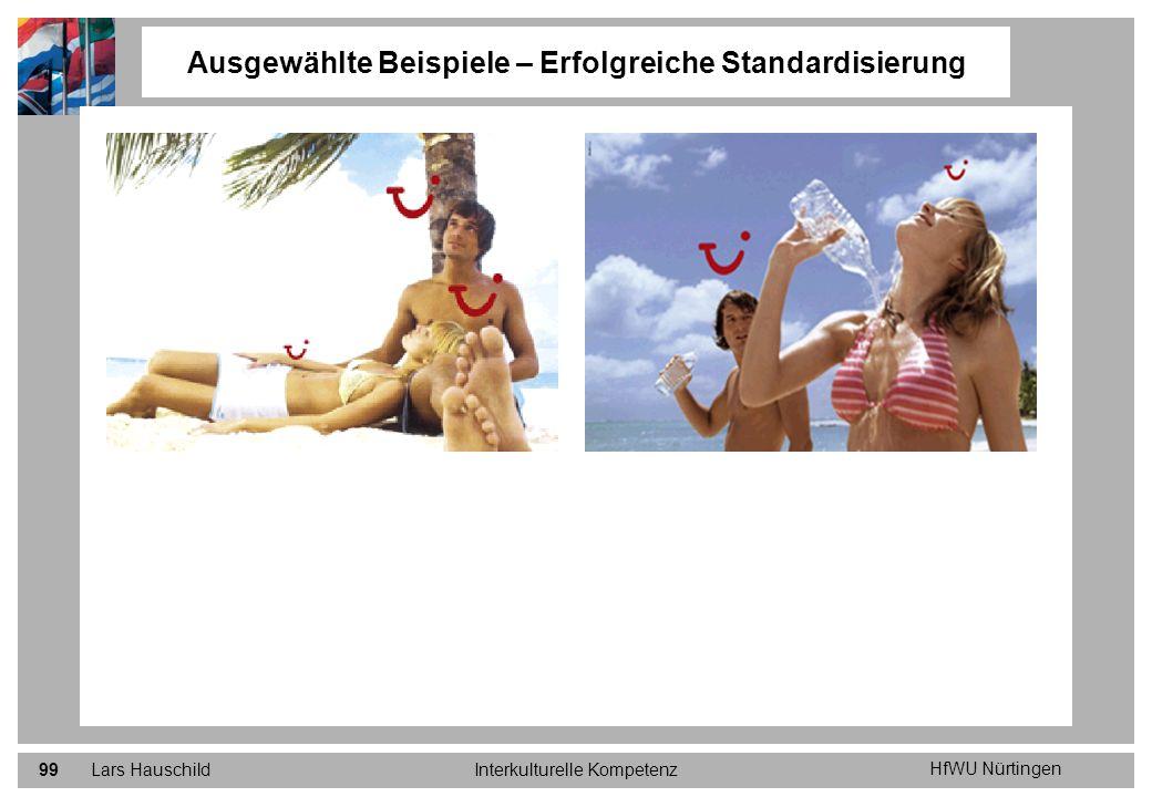 HfWU Nürtingen Lars HauschildInterkulturelle Kompetenz99 Ausgewählte Beispiele – Erfolgreiche Standardisierung