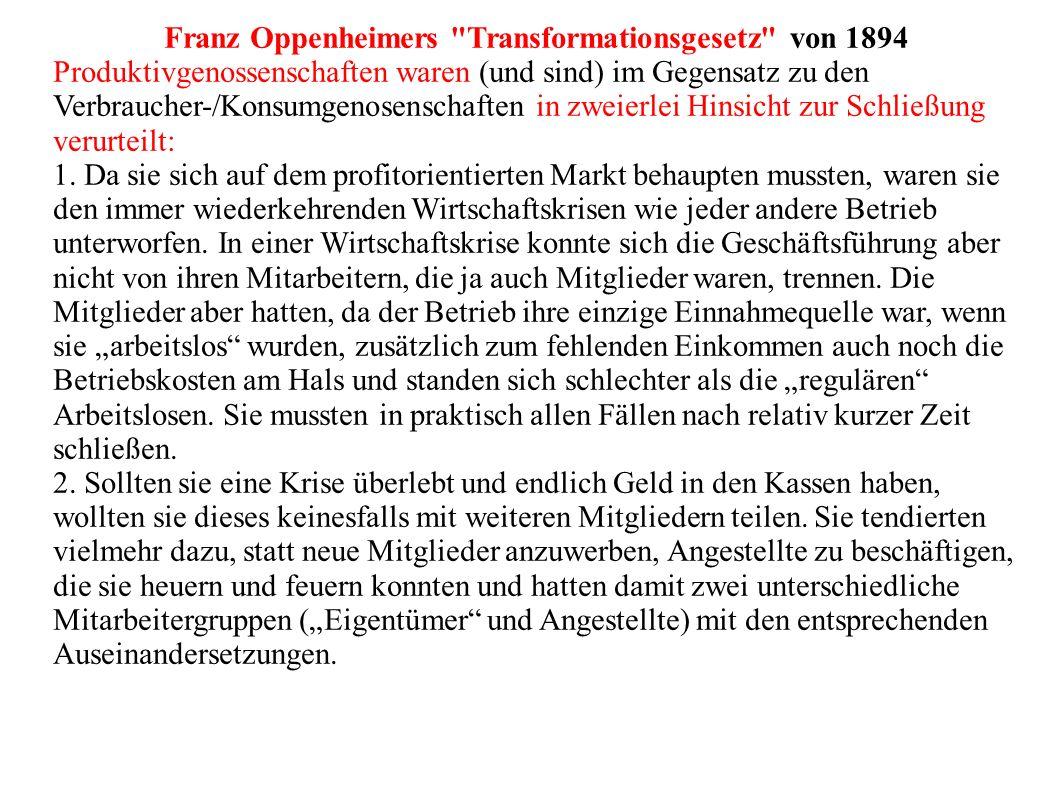 Franz Oppenheimers