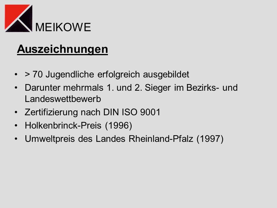 MEIKOWE Ergebnis und Abschluss Präsentation der Winter-School-Ergebnisse Schirmherrschaft: Frau Dr.