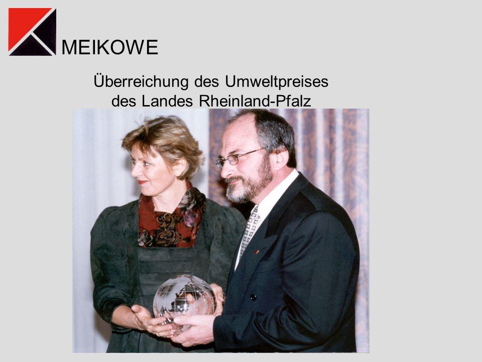 MEIKOWE Überreichung des Umweltpreises des Landes Rheinland-Pfalz