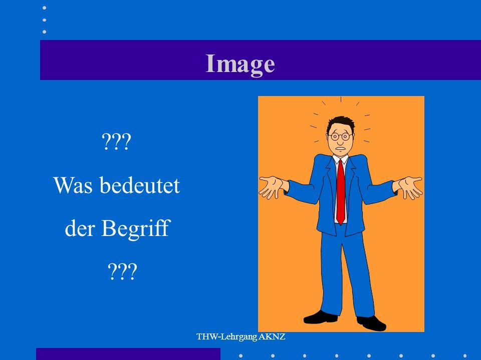 THW-Lehrgang AKNZ Image ??? Was bedeutet der Begriff ???