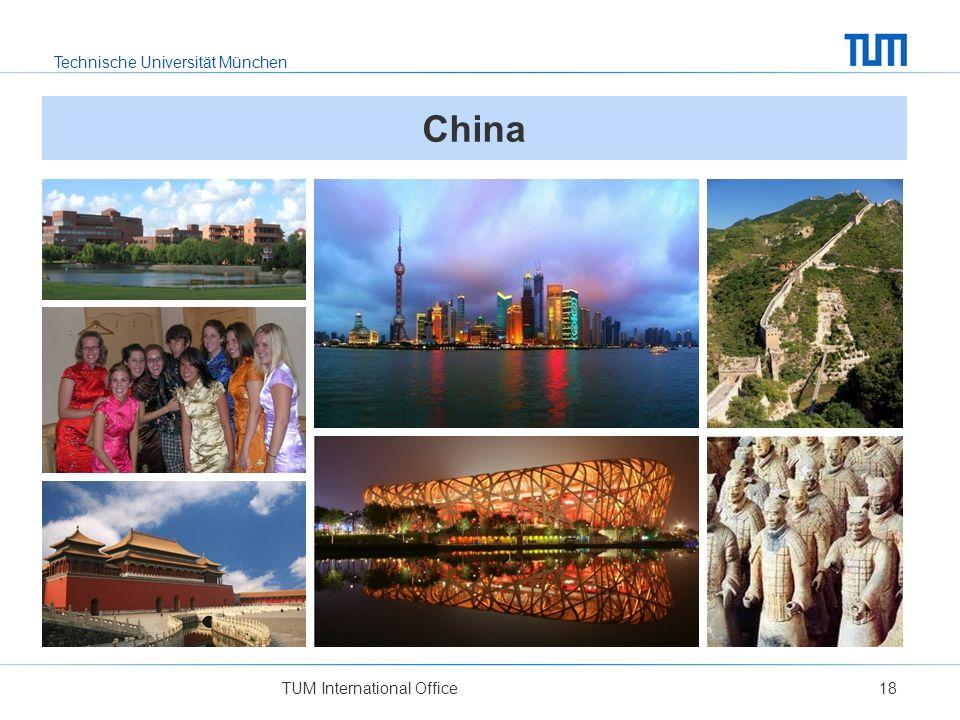 Technische Universität München TUM International Office18 China