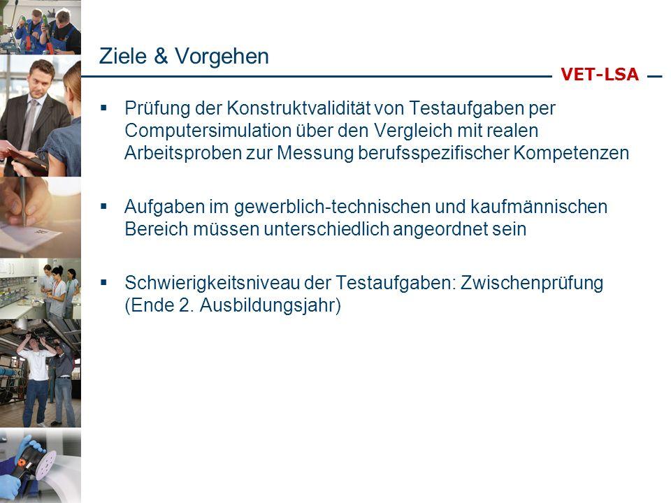 VET-LSA KFZ Mechatroniker Arbeitsanteile: Standardservice ca.