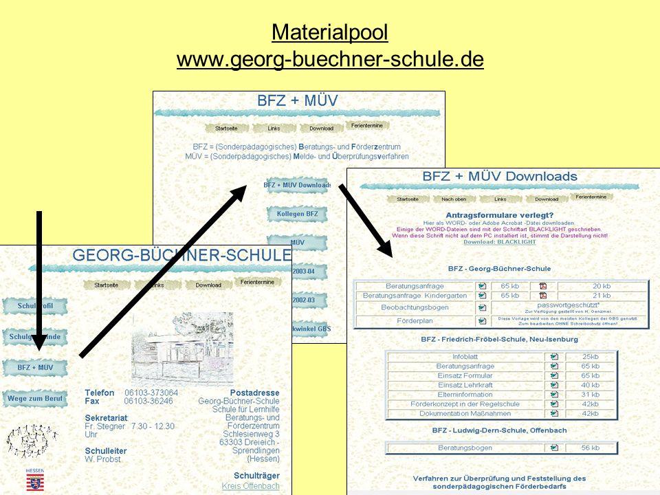 Materialpool www.georg-buechner-schule.de
