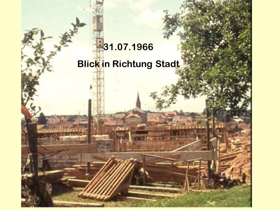 31.07.1966 Blick in Richtung Stadt