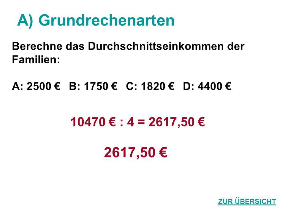G) Prozent / Zins Eine Jeans um 80 Euro wird im Schlussverkauf um 20 % billiger.