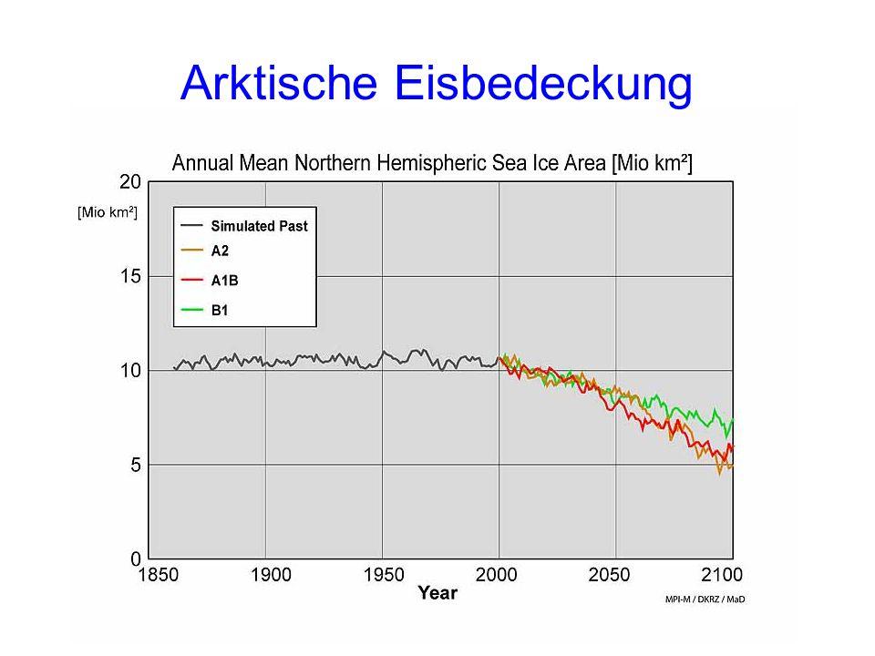 Arktische Eisbedeckung