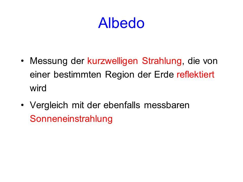 Weltkarten der planetaren Albedo in der flächentreuen Hammer- Projektion im (a) Jahresmittel, (b) Nordsommer (Juni-Juli-August, JJA) und (c) Nordwinter (Dezember-Januar- Februar, DJF).