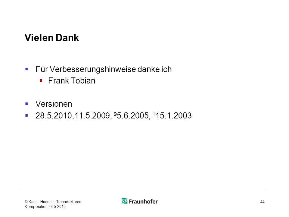 Vielen Dank Für Verbesserungshinweise danke ich Frank Tobian Versionen 28.5.2010,11.5.2009, 9 5.6.2005, 1 15.1.2003 © Karin Haenelt, Transduktoren: Ko
