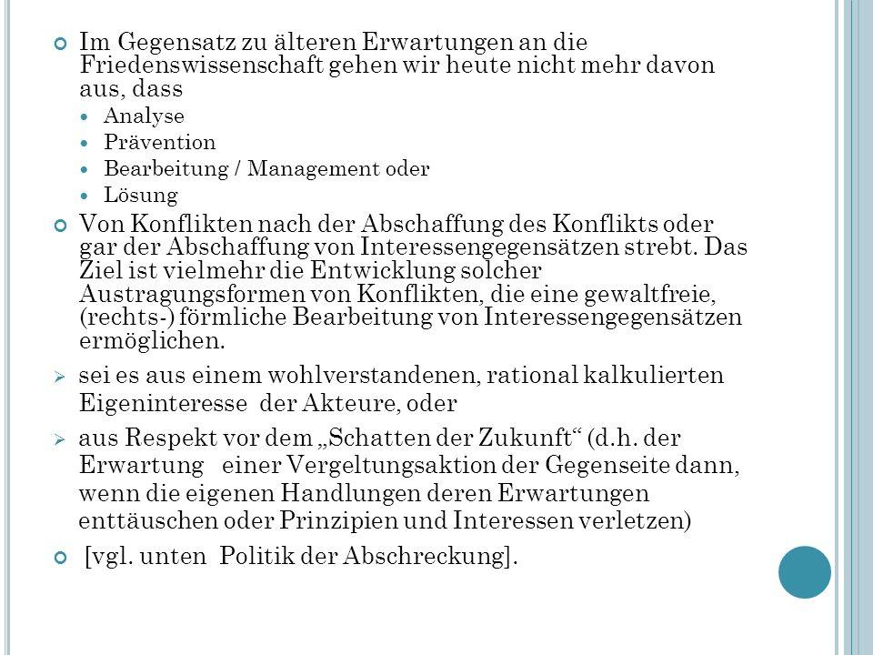 Literaturtipp Ulrich Eckern u.a.(Hrsg.): Friedens- und Konfliktforschung in Deutschland.