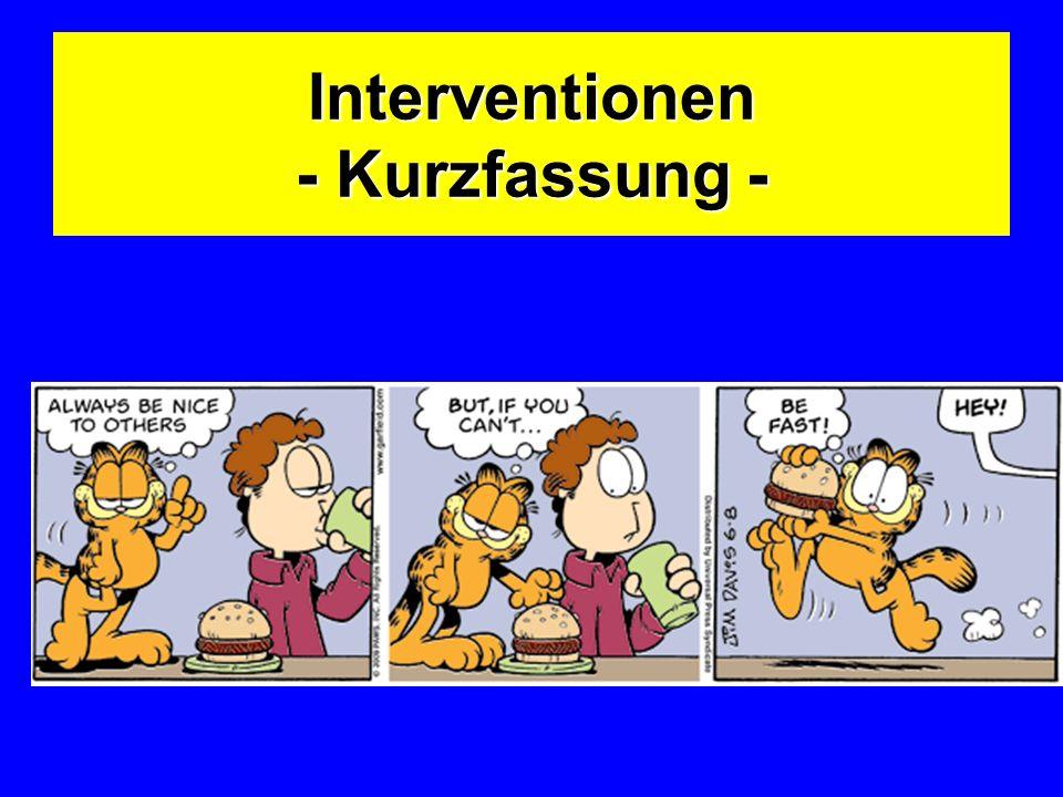 Interventionen - Kurzfassung -