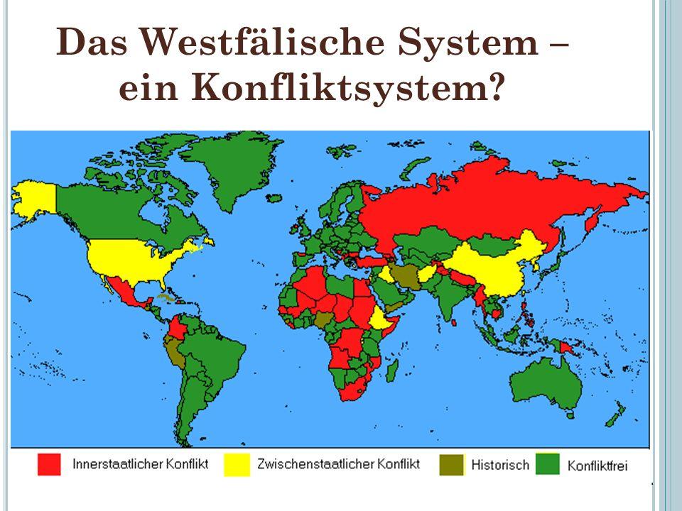 Das Westfälische System – ein Konfliktsystem? 41