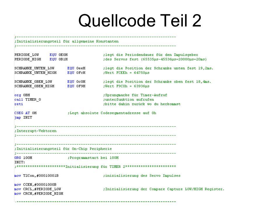 Quellcode Teil 2