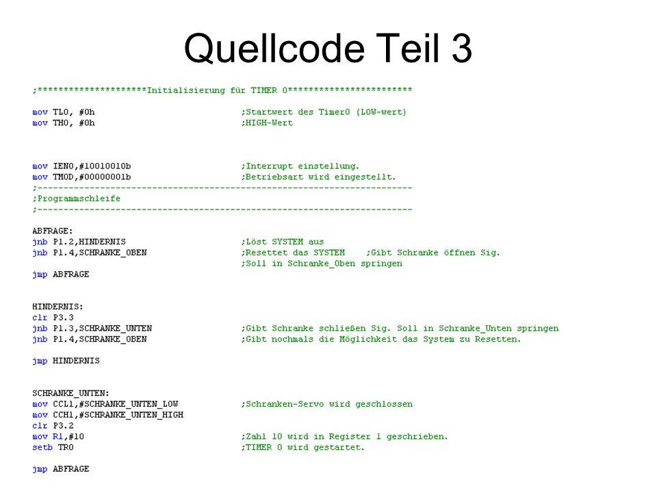 Quellcode Teil 3