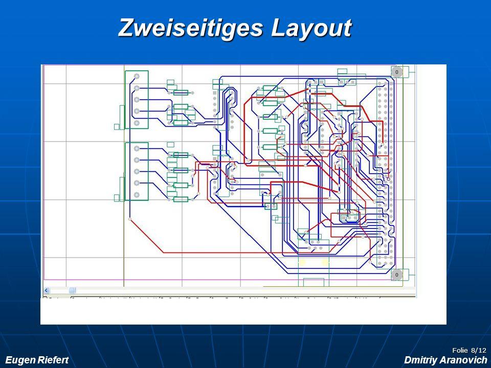 Eugen RiefertDmitriy Aranovich Folie 9/12Software Programmbeschreibung: Alarmanlage: Das Programm wird gestartet, sobald man die Fahrzeugtür (Port 4.2) öffnet.
