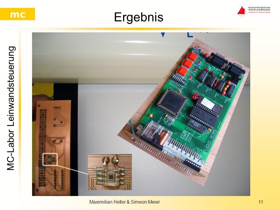 MC-Labor Leinwandsteuerung mc Maximilian Heller & Simeon Meier10 Verbesserungen Optimierung der Erkennung der Lichtintensität Mit zusätzlichem Sensor