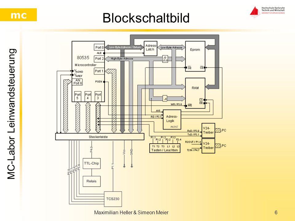 MC-Labor Leinwandsteuerung mc Maximilian Heller & Simeon Meier5 Struktogramm