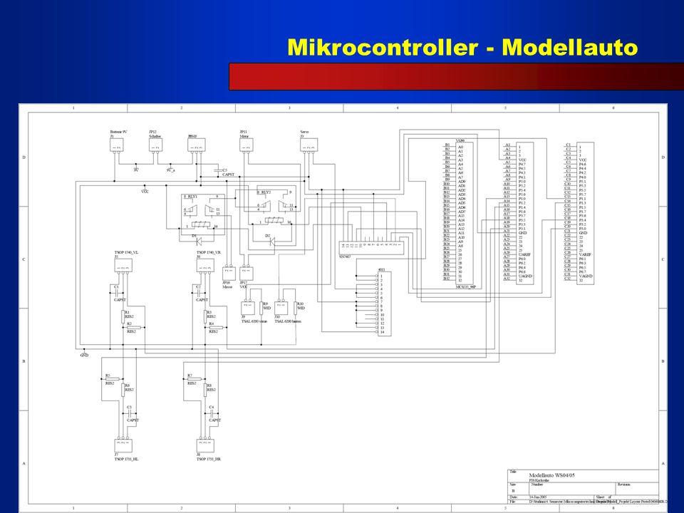 Mikrocontroller - Modellauto 6